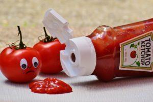 dürfen hunde ketchup essen